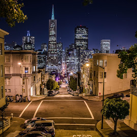 by Vince Byrd - City,  Street & Park  Skylines