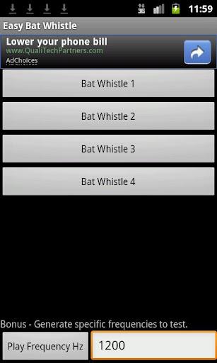 Easy Bat Whistle