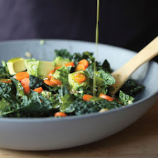 Gialina's Kale & Farro Salad with Avocado