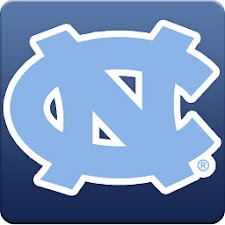 North Carolina Tar Heels Clock