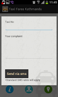 Screenshot of Taxi Fares Nepal