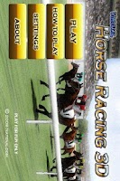 Screenshot of Virtual Horse Racing 3D
