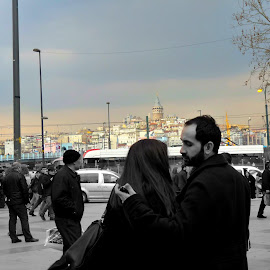In love with the city-- Istanbul by Yong Ee Vonn - People Couples