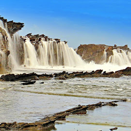 Beauty SAWARNA Beaches by Harjono Djukyanto - Landscapes Beaches