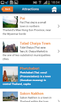 Screenshot of Patong Beach Guide Hotels Map