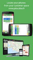 Screenshot of jelocalise Phone GPS Tracker
