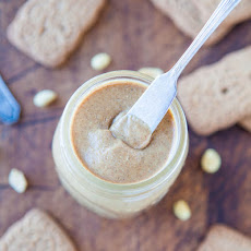Homemade Cookie Butter Peanut Butter (with vegan and gluten-free options)