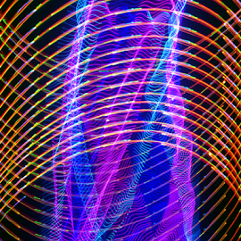 Arterial blood gas by Jim Barton - Abstract Patterns ( laser light, colorful, light design, .arterial blood gas, laser design, laser, laser light show, light, science )