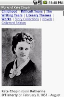 Screenshot of Works of Kate Chopin
