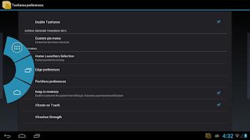 Screenshot of TasKarou Launcher Overlay
