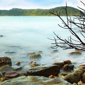 Pantai Pasir Lanun, Mersing, Johor, Malaysia. by Esyam Din - Landscapes Beaches ( landscape, beach )