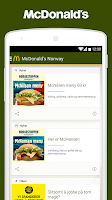 Screenshot of McDonald's