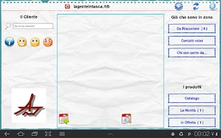 Screenshot of lagenteintasca.it®