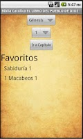 Screenshot of Biblia Católica