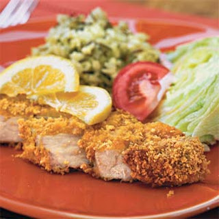 Cornflake-Coated Pork Chops