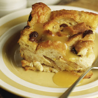 Old Fashioned Bread Pudding with Raisins