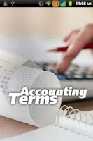 Screenshot of Accounting Terms