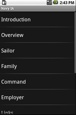 Navy IA