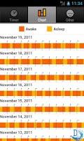 Screenshot of Baby Sleep Tracker