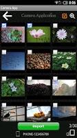 Screenshot of FUJIFILM Camera Application