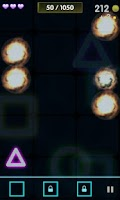 Screenshot of Neon Catch 2