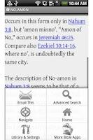 Screenshot of Encyclopedia for Bible Study