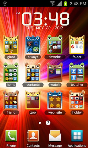 How to Make App Folders in Android 4 Jelly Bean