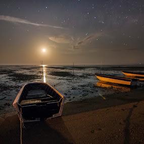 Infinite Dreams by Härris McHörrör - Landscapes Starscapes ( milkyway, sabahokbah, shoreline, sabahbest, kuala penyu, sabah, moonrise )