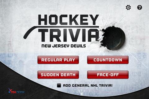 Hockey Trivia-Devils
