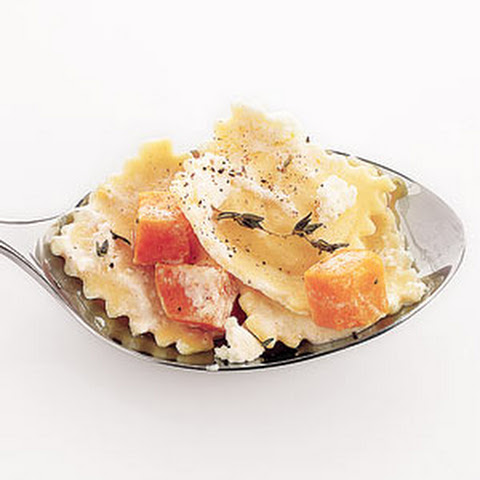 Ravioli With Sweet Potatoes and Thyme