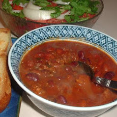Super Easy Mild Chili