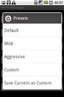 Screenshot of MinFreeManager