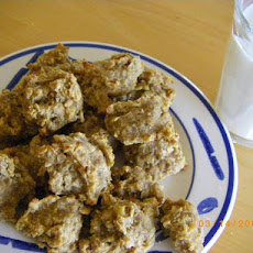 Healthy Banana Drop Cookies