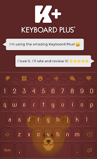 Bear Keyboard - screenshot