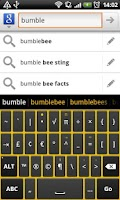 Screenshot of Bumblebee - HD Keyboard Theme