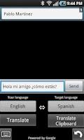 Screenshot of Translating Keyboard 2