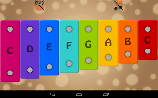 Screenshot of Kids Xylophone