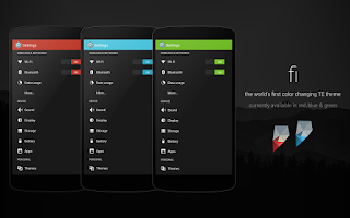 Screenshot of Fi - PA/CM11 Theme