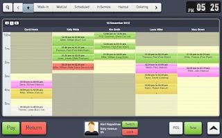 Screenshot of Salon Software
