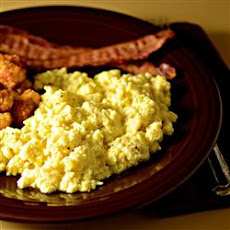 Alaskan Chocolate Scrambled Eggs
