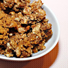 Gluten Free Granola With Mulberries and Walnuts (Raw Vegan)