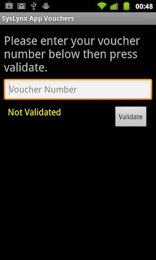 SysLynx App Vouchers