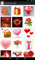 Screenshot of Love Sticker for WhatsApp