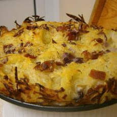 Oven Baked Rosemary And Bacon Potato Rosti