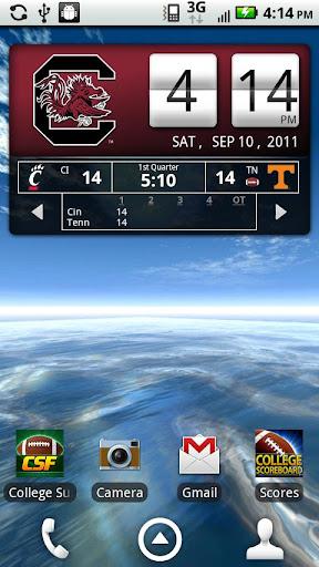 South Carolina Live Clock