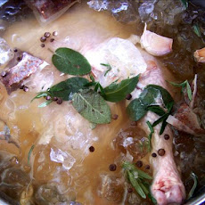 Apple Spiced Tea Brine
