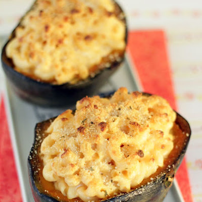 Macaroni and Cheese Stuffed Squash