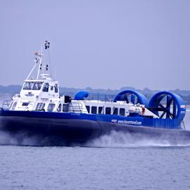 Hovercraft by Deborah Russenberger - Transportation Boats ( hovercraft )