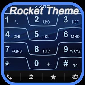 Cover art RocketDial Razr Blue Theme