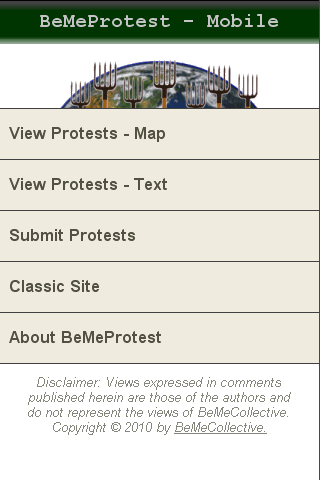 BeMeProtest